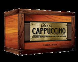 Iaso Café Cappuccino: Chaga, Ganoderma y Cordyceps - Caja x 20 sobres