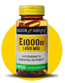 Vitamina E 1000 UI - Frasco x 50 Capsulas