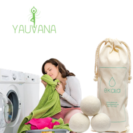 Bolas de aromaterapia para secadora - 3 unidades