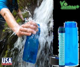 Botella Filtrante y Potabilizadora de Agua x 650 ml