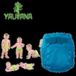 Pañal Ecológico Hipoalergénico Reusable niño 0 a 3 años Aqua - 1 Unidad