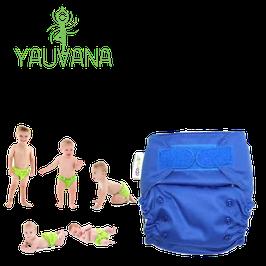 Pañal Ecológico Hipoalergénico Reusable niño 0 a 3 años Azul Marino - 1 Unidad