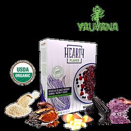 Cereal Hojuelas Maiz Morado Organico, Libre de Gluten y Azúcar - Caja x 300 g