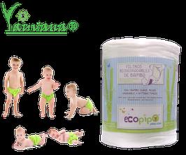 Filtros Biodegradables de bambú - Rollo x 100 hojas