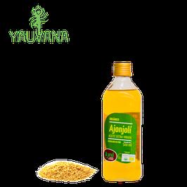 Aceite de Ajonjolí Orgánico Extra Virgen (Prensado en Frío) - Frasco x 500 ml