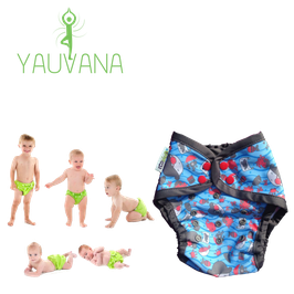 Pañal Natación Ecológico Hipoalergénico Reusable niño 0 a 3 años Pirata - 1 Unidad