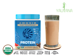 WARRIOR BLEND MOCHA (RAW Vegan Protein) 15 Porciones - Frasco x 375 g