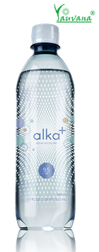 Agua Alcalina Ionizada pH 9.5 Alka+ - Botella x 500 ml