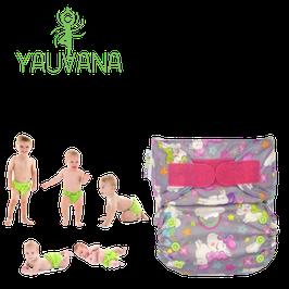 Pañal Ecológico Hipoalergénico Reusable niña 0 a 3 años Unicornio - 1 Unidad
