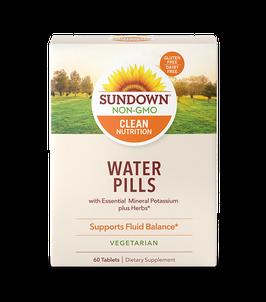 Water Pills - Caja x 60 Tabletas (Vegetariano, Gluten Free, Sin Lactosa)