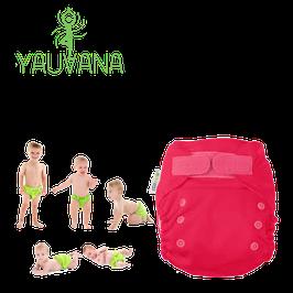 Pañal Ecológico Hipoalergénico Reusable niña 0 a 3 años Fucsia - 1 Unidad