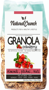 Granola con Arándano Rojo - Bolsa x 320 gr