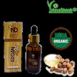 Aceite de Argán Orgánico (Argania spinosa) - Frasco x 30 ml
