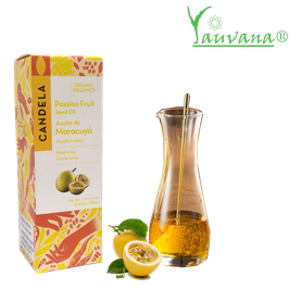 Aceite de Maracuyá Orgánico (Passiflora edulis) - Frasco x 33 ml