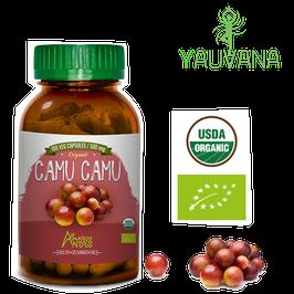 Camu Camu Orgánico (Myrciaria Dubia) - Frasco x 100 cápsulas x 500 mg