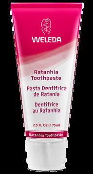 Pasta Dental Ratania (gingivitis) Libre de Fluor - Envase x 75 ml