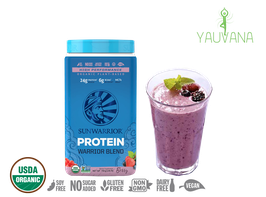 WARRIOR BLEND BERRY (RAW Vegan Protein) 30 Porciones - Frasco x 750 g