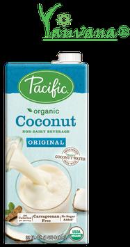 Leche de Coco Orgánica sin Azúcar - Caja x 946 ml