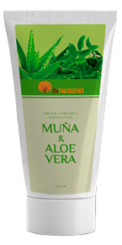 Crema Hidratante Corporal Muña y Aloe Vera - Frasco x 200 ml