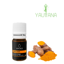 Aceite Esencial de Cúrcuma / Turmeric (Cúrcuma Longa) Orgánico, 100% Puro - Frasco x 5 ml