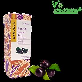 Aceite de Acaí (Euterpe oleracea)- Frasco x 33 ml