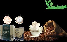 Café Arábico Orgánico Premium Chanchamayo Molido Filtrante - Caja x 10 Sachets x 15 g c/u