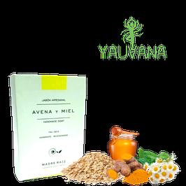 Jabón Avena, Miel, Manzanilla, Cúrcuma - 100 g
