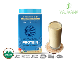 WARRIOR BLEND VAINILLA (RAW Vegan Protein) 30 Porciones - Frasco x 750 g