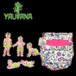 Pañal Ecológico Hipoalergénico Reusable niña 0 a 3 años Princesa 2 - 1 Unidad