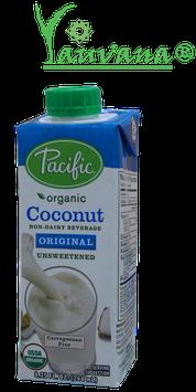 Leche de Coco Orgánica sin Azúcar - Caja x 244 ml
