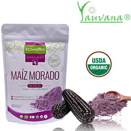 Maiz Morado (Zea mays) en polvo Organico - Bolsa x 250 g