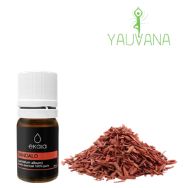 Aceite Esencial de Sándalo / Sandalwood (Santalum album) 100% Puro - Frasco x 5 ml