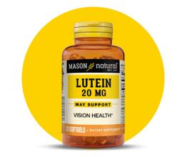 Luteína 20mg - Frasco x 30 Cápsulas blandas