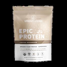 Epic Protein Coffe Mushroom 13 Porciones – Bolsa x 498 g (1.1 LB)