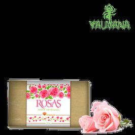 Jabón Natural de Rosas - Envase x 150g