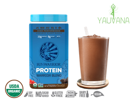 WARRIOR BLEND CHOCOLATE (RAW Vegan Protein) 30 Porciones - Frasco x 750 g