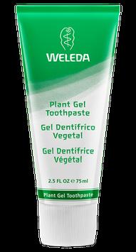 Pasta Dental Vegetal (encías delicadas - gel dentrífico) Libre de Fluor - Envase x 75 ml