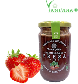 Mermelada Diet Fresa Apto Diabeticos - Frasco x 315 g