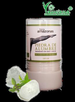Desodorante Corporal Natural y Ecológico de Piedra de Alumbre - Envase x 120 g