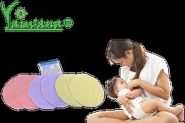 Protectores de Lactancia Ecológicos reusables - 6 unidades