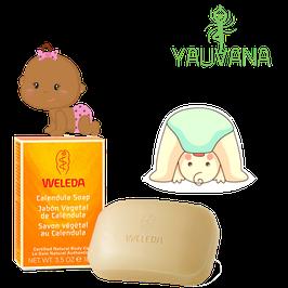 Jabón Vegetal de Caléndula (para bebé) - Caja x 100 g