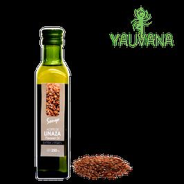 Aceite de Linaza Extra Virgen - Frasco x 250 ml (Prensado en Frío)