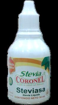Estevia Pura líquida (gotero) -  Frasco x 30 ml (120  tazas)