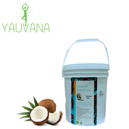 Aceite de Coco Orgánico - Balde x 18 kg