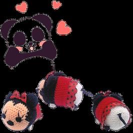 Amigurumi Tejido a mano -  Minnie Mouse