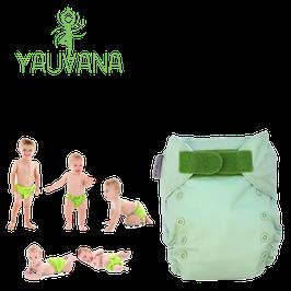 Pañal Ecológico Hipoalergénico Reusable niño 0 a 3 años Manzana Verde - 1 Unidad