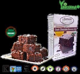 Pre Mezcla Brownies Orgánicos Chocolate Oscuro Vegana Gluten Free - Caja x 454 g (18 porciones)