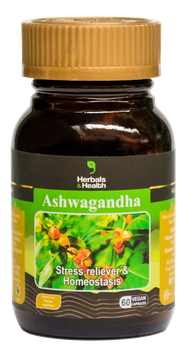 Ashwagandha (Withania somnifera)- Frasco x 60 cápsulas