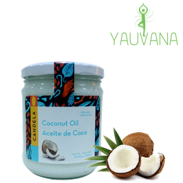 Aceite de Coco Orgánico - Frasco x 450 ml