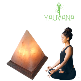 Lámpara de Sal del Himalaya Pirámide - 2 a 3 kg